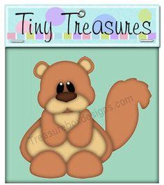 Tiny Treasures (Squirrel)