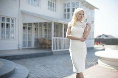 Short Wedding Dress Ivory Wedding Dress by ApilatCreativeAtelie