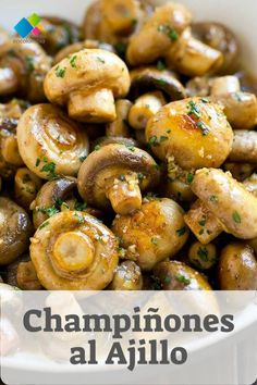 25 Tasty and Enjoyable Mushroom Recipes – Lifesoever – Goodish Healthy Food Healthy Eating Tips, Clean Eating Snacks, Healthy Dinner Recipes, Cooking Recipes, Healthy Snacks, Healthy Nutrition, Garlic Mushrooms, Stuffed Mushrooms, Marinated Mushrooms