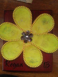 Softball Flower for Senior Player