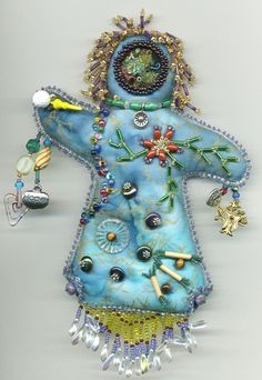 Beautiful spirit doll bead