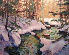 Mark Zimmerl peintre de Brome.