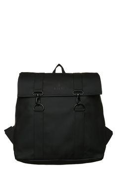 Bestill  Rains MSN BAG - Ryggsekk - black for kr 439,00 (21.11.17) med gratis frakt på Zalando.no