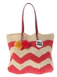 日本拼接编织包