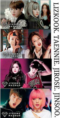 Bts Blackpink, Jimin, Vkook Memes, Bts Memes, Kpop Couples, Cute Couples, Bts Dance Practice, 17 Kpop, Korean Couple