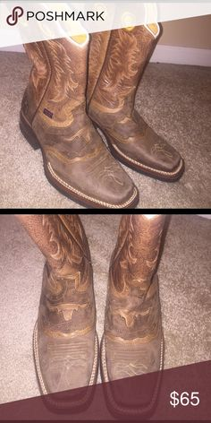 e605353791 Original Reyme boots Rodeo boots! Worn once! Original Reyme Shoes Botas De  Vaquero
