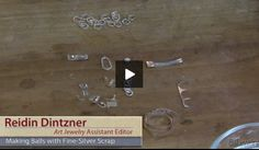 Art Jewelry Assistant Editor Reidin Dintzner shows you how to make balls with your fine-silver scrap.