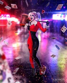 "8,430 Me gusta, 29 comentarios - Harley Quinn (@_crazy_harley_quinn_) en Instagram: ""The queen of Gotham city Love this picture  #harleyquinn #harleenquinzel #harleenfrancesquinzel…"""