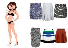 Cómo elegir una falda para tu figura: un pequeño consejo con imágenes