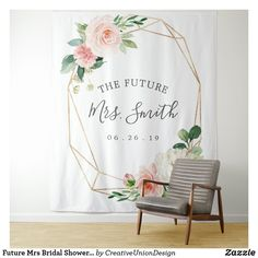 Future Mrs Bridal Shower Backdrop Photo Booth Bridal Shower Backdrop, Bridal Shower Photos, Elegant Bridal Shower, Gold Bridal Showers, Bridal Shower Gifts, Bridal Shower Invitations, Wedding Backdrops, Bachelorette Photo Booth, Bachelorette Party Decorations