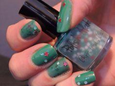 Christmas Cactus by Polish Alcoholic Indie #nailpolish