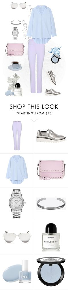"""""""Colors"""" by murenochek ❤ liked on Polyvore featuring Carven, STELLA McCARTNEY, Acne Studios, Valentino, Chopard, Maison Margiela, Victoria Beckham, Byredo, Sephora Collection and pastel"""