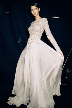 {fashion inspiration | runway : elie saab couture autumn/winter 2014}