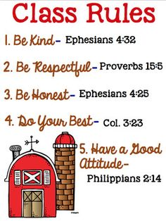 Sunday School Rules, Sunday School Classroom, Sunday School Lessons, School Teacher, Classroom Ideas, Christian Classroom, Christian School, Classroom Discipline, Toddler Discipline