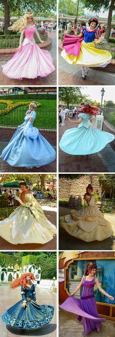 迪士尼的公主們