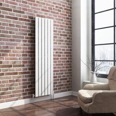 Vertical radiators come in all styles & sizes! Choose from small or tall radiators, flat panel, tube or vertical column radiators. Bathroom Radiators, Vertical Radiators, Column Radiators, Bathroom Faucets, Traditional Radiators, Designer Radiator, White Paneling, My Living Room, Cooking