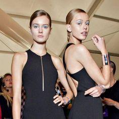 Routine beauté : les tops Jac Jagaciak et Frida Gustavsson, ce qui les rend belles