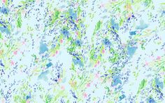 Lilly Pulitzer print story...Skye Blue Heaven