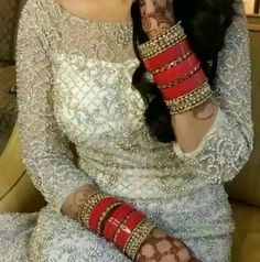 Best Ideas For Dress Red Wedding Bridesmaid Wedding Chura, Red Wedding, Wedding Wear, Wedding Bridesmaids, Bridesmaid Dress, Punjabi Bride, Punjabi Wedding, Indian Bridal Outfits, Indian Dresses