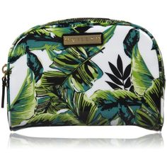 Milly Cosmetic Case - Banana Leaf Print ($42) ❤ liked on Polyvore featuring beauty products, beauty accessories, bags & cases, bags, accessories, clutches, fillers, purses, toiletry kits and make up bag