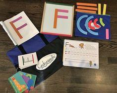 Upper Case Kit - magnets, boards, activity books, muscle mover cards - you name it! #Fundanoodle #Kids #Education #Learning #FineMotorSkills #Ambassador #KidKits #Alphabet