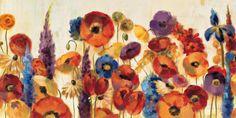 オールポスターズの シルヴィア・ワシルワ「Joyful Garden」ポスター