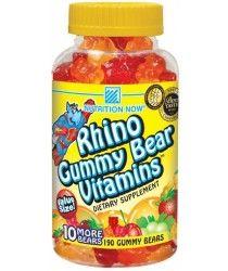 rda children's vitamins, rhino gummy bear childrens vitamin