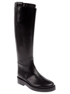 Ann Demeulemeester Blanche Buckled Strap Boot