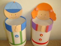 Paper Cup Crafts, Tin Can Crafts, Diy And Crafts, Arts And Crafts, Pencil Holder, Pen Holders, 1st Day Of School, Crafts For Girls, Diy Cards