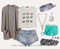 Resultado de imagen para conjunto de ropa juvenil verano