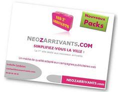 Communiquez sur NEOZARRIVANTS.com avec nos nouveaux Packs !
