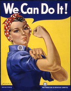 We Can Do It! Poster by DonkeyHotey, via Flickr