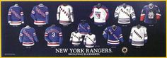The history of the NY RANGERS jersey