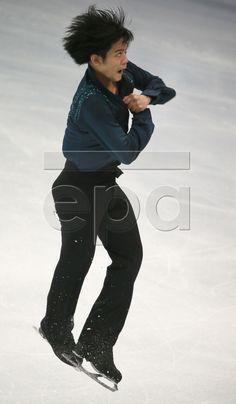 Takahiko Kozuka of Japan performs during the Men's free skating program of the Rostelecom Cup ISU Grand Prix of Figure Skating in Moscow, Russia, 15 November 2014. EPA/SERGEI ILNITSKY