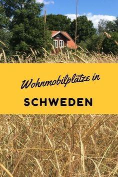 Our favorite RV sites in Sweden-Unsere Lieblings-Wohnmobilstellplätze in Schweden Motorhome parking spaces in Sweden: tips for parking spaces for a holiday with a motorhome - Checklist Camping, Camping Essentials, Camping Europe, Camping Places, Europe Destinations, Holiday Destinations, Camping Activities, Family Activities, Trailers Camping