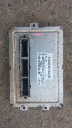 02 DODGE DAKOTA ECU ECM ENGINE CONTROL UNIT 56028652AA P56040302AC COMPUTER