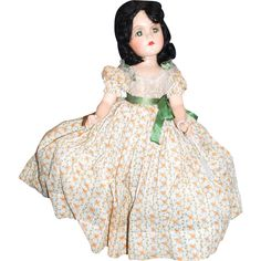 Composition Scarlett O'Hara Doll Madame Alexander Gone with the Wind