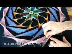 string art turbina fractal por jorge de la tierra tercera parte de tres - YouTube