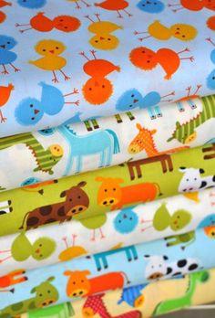 Hawthorne Threads farmyard fabric