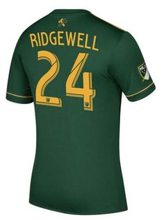Portland Timbers Jersey 2017/18 Home Soccer Shirt #24 RIDGWELL