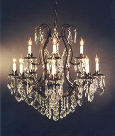antique chandelier - Google Search