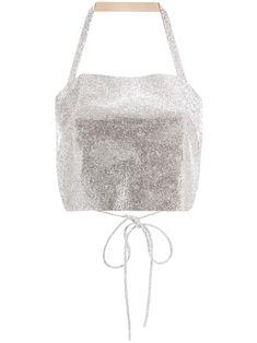 Halter Tops, Iphone Wallpaper Fall, Size Clothing, Embellishments, Women Wear, Boutique, Silver, Metallic, Fashion Design
