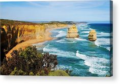 Twelve Apostles. WATER CALMS THE SOUL. TOP Water Acrylic Prints of beach, ocean and water scenes from Australia that took my breath away. 66,000kms of coastline, 11,000 beaches, waterfalls, waterholes, gorges, lakes, rivers and creeks. Australia's diversity...we have it all!! Visit my photo gallery and get a beautiful Fine Art Print, Canvas Print, Metal or Acrylic Print. 30 days money back guarantee on every purchase so don't hesitate to bring some 'SOOTHING' in your home or office!