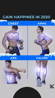 Muscle Booster Fitness at Home Fitness Workouts, Abs And Cardio Workout, Gym Workouts For Men, Gym Workout Chart, Gym Workout Videos, Gym Workout For Beginners, Abs Workout Routines, Weight Training Workouts, Yoga Fitness