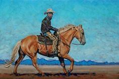 """""""Desert Run"""" 16"""" x 24"""" oil painting by Paige Albrecht visit www.paigealbrecht.com"""