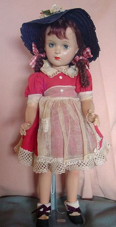 Margaret O'Brien, Madame Alexander 18'' doll.