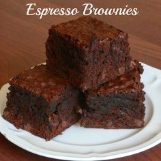 Imperfect & Fabulous: Espresso Brownies