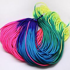 4mm Nylon Random Rainbow Climbing Rope Paracord [RCP-R006] Random Rock Climbing Ropes, Nylon Paracords.  Size: about 4mm in diameter.