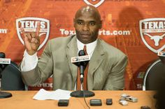 Texas Football head coach Charlie Strong at his introductory press conference on Monday, Jan. 6, 2014.
