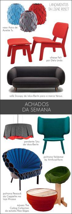 design + felt furniture